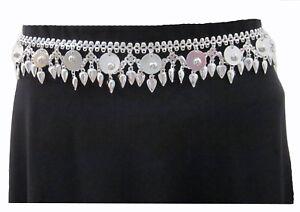 Women Fashion Metal Chain BELT Vintage Boho Gypsy Hippy Clothing Skirt Accessory