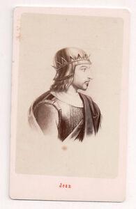 Vintage-CDV-King-John-II-of-France-E-Neurdein-Photo