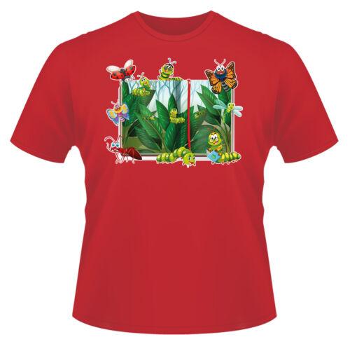 Bugs T-Shirt Boys Girls Kids Age 3-13 Ideal Gift//Present