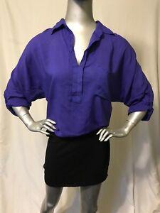 Splendid-Purple-Combo-Dress-Size-S