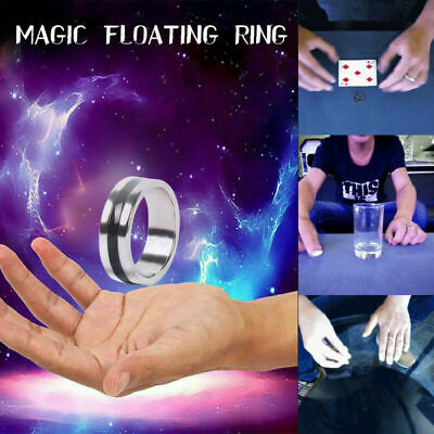 2019 Magic Ring Tricks Play Ball Floating Effect of Invisible Magic Props Yc