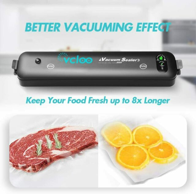 Vakuumiergerät Lebensmittel Vakuumierer Folienschweißgerät Seale Einschweißgerät