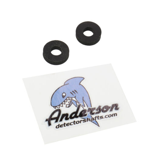 """Anderson Detector Shafts 3//8/"""" Lower Rod Washer Pair"""