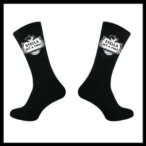 Mens This Is What A Twat Looks Like Black Calf Socks Birthday Christmas Valentin