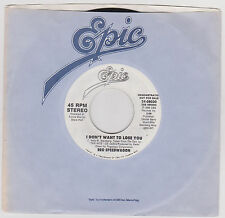REO SPEEDWAGON - I DON'T WANNA LOSE YOU - 45 RPM - 1988 - DJ COPY
