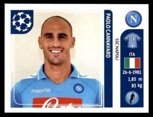 PAOLO CANNAVARO ITALIA SSC NAPOLI CARD ADRENALYN CHAMPIONS LEAGUE 2012 PANINI
