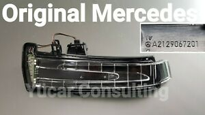 Orig. Mercedes Mirror Indicator Mounted Left A2129067201 W221 S-CLASS LH