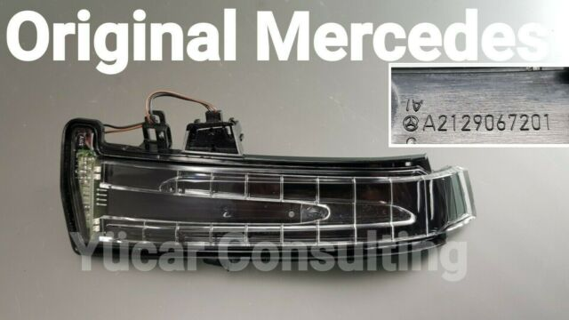 Original Mercedes Indicator Mirror Mounted Left B Class W246 Additional LH
