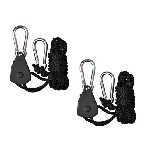 200cm Ratchet Light Hangers 2 Pack verstellbare Reflektorrolle