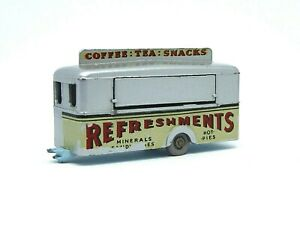 Matchbox-Lesney-No-74a-Mobile-refresco-Cantina-azul-palido-Raro-Base