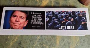 Ronald Reagan Bumper Sticker Antifa Anti Liberalism Anti-Snowflake Pro Liberty