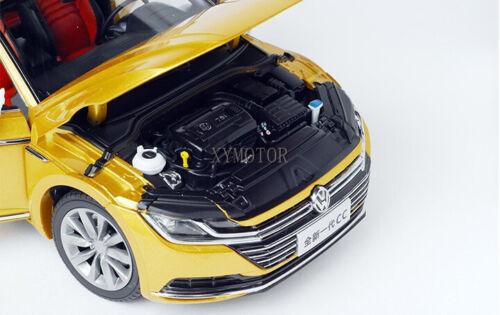 1//18 VW Volkswagen New CC Diecast CAR MODEL Toys kids Boy Girl gift Gold