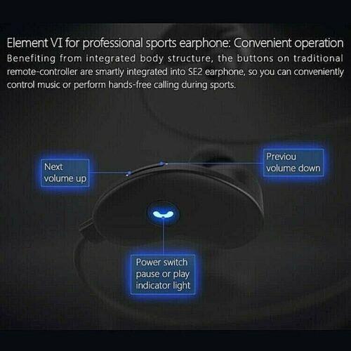 Neckband Bluetooth Wireless Headphones Sports Running Earphones Water-Resistant