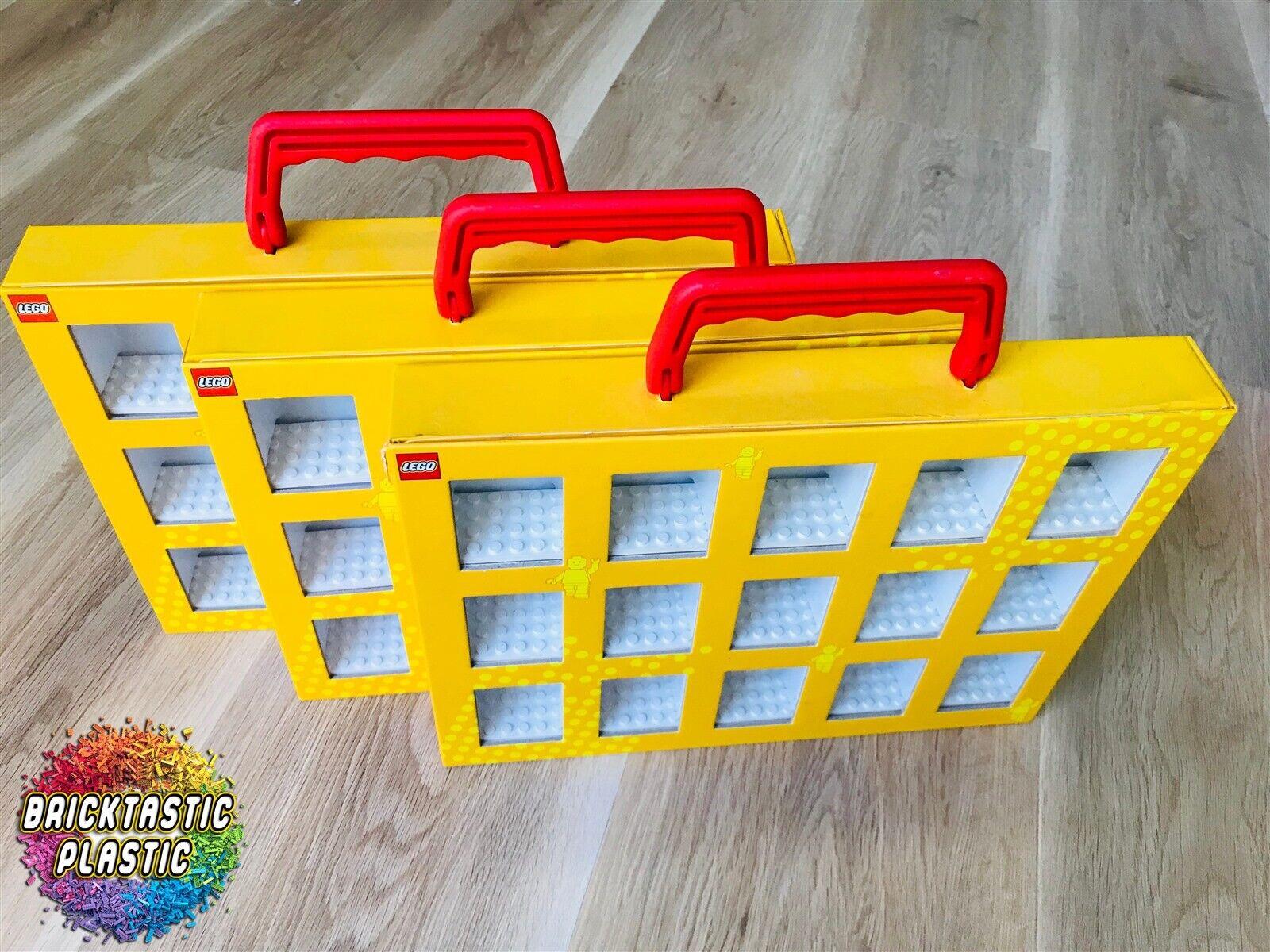 Lego-Minifigura-X3 caja de coleccionista de retirado rara  a granel - 852820