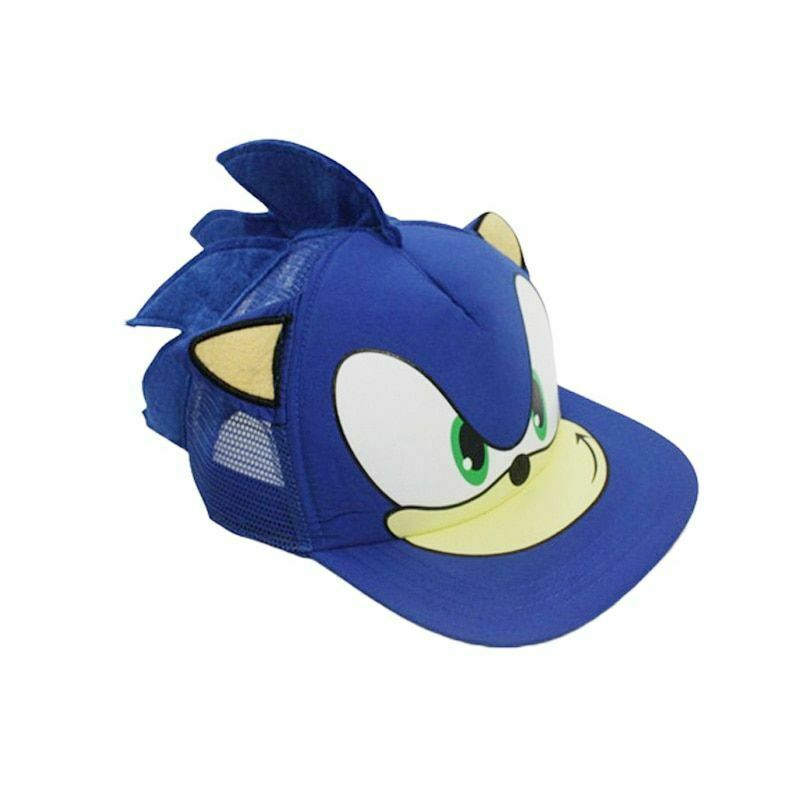 Super Sonic The Hedgehog Hat Cap For Youth Boys Kids Children Cosplay Cartoon Ebay
