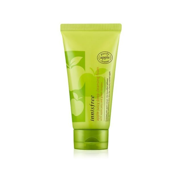 [INNISFREE]  apple Juicy deep cleansing foam 150ml / Korea cosmetic
