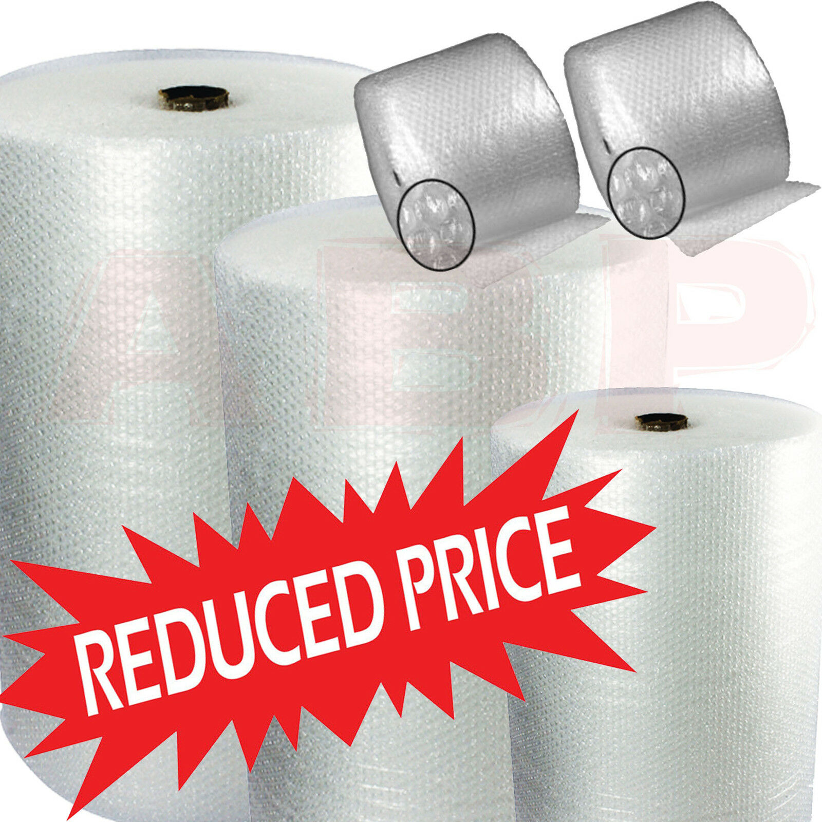 BUBBLE WRAP ROLLS SMALL & LARGE  300 500 600 750 1000 1200 1500mm