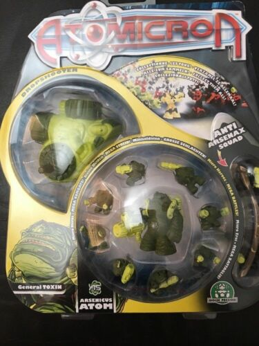 Atomicron Deluxe Armée Pack Action Fantasy Figurines Anto karbotek Squad