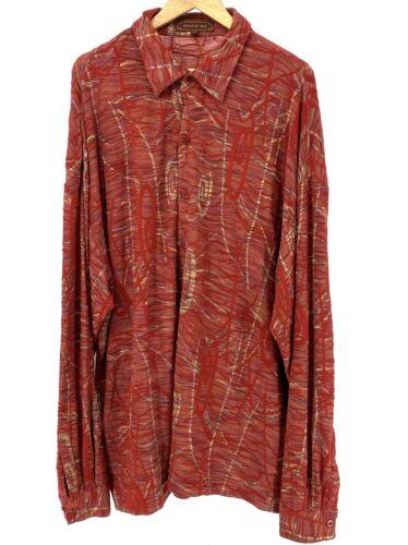 Men's Creme De Silk Blend 3X Long Sleeve EUC Silk