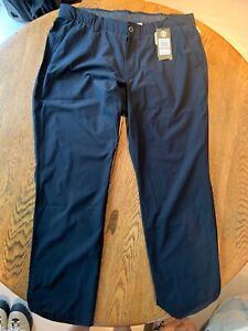 Under-Armour-Mens-38x30-Tech-Golf-Pants-Stretch-Loose-Comfort-Fit-Black
