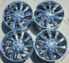 17 Toyota Camry Factory Oem Chrome Alloy Wheels Rims 2011 2014 17x7 75206 Fits 2011 Toyota Camry
