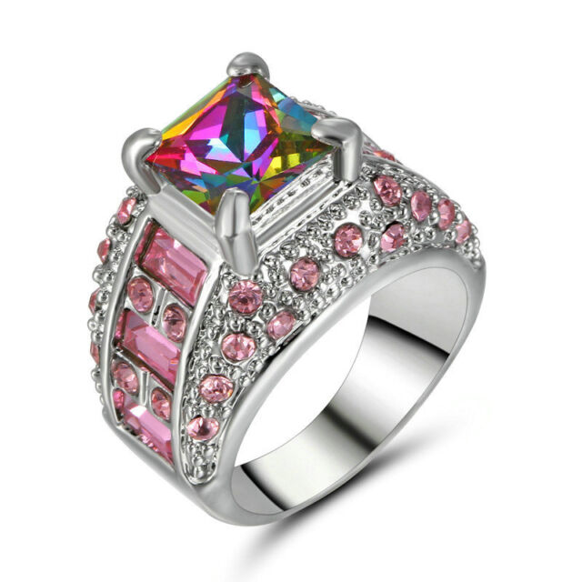 product mft petals sptls mystic wedding rings fire topaz silver
