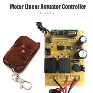 12V-24V-Motor-Linear-Actuator-Controller-Wireless-Remote-Forward-Reverse-Control