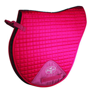 Professionals-Choice-VenTech-XC-English-Saddle-Pad-Wine-EP500