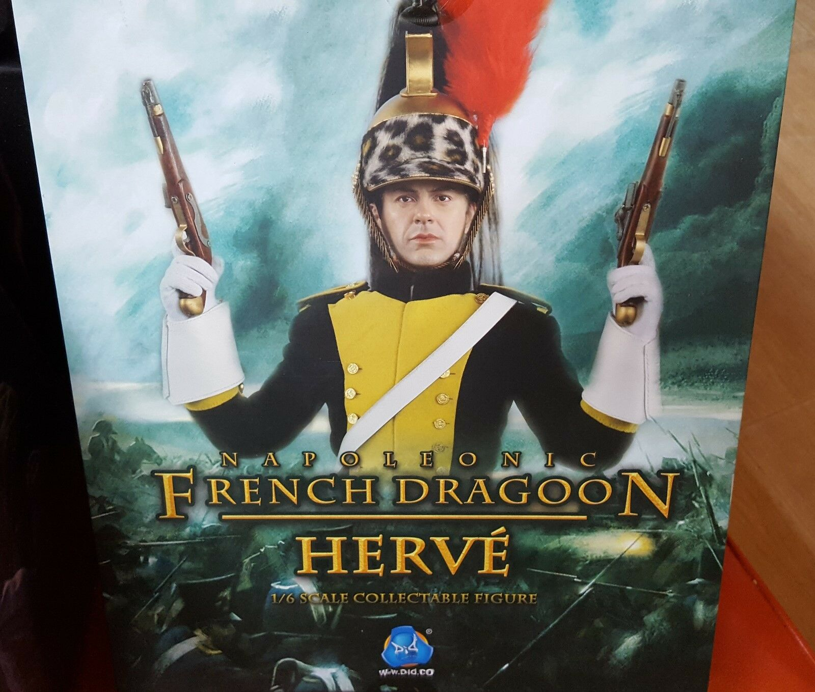 DID 1 6 Scale 12  Napoleonic French Dragoon Herve Action Figure 80104