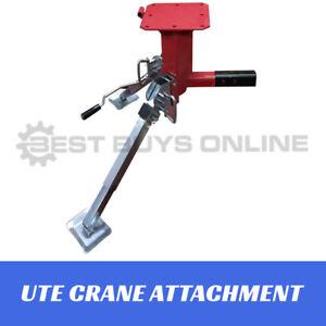 UTE-Swivel-Crane-Tow-Bar-Attachment-450kg-1000-lbs-pickup-Truck-Trailer-Hoist