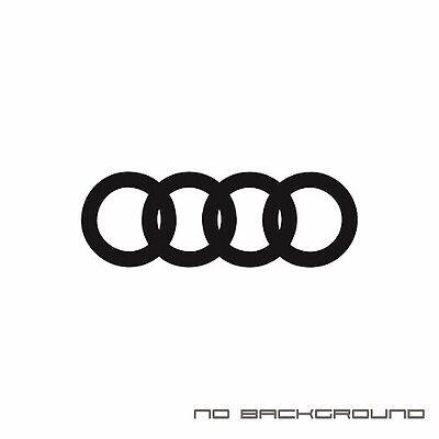 Audi Heart Beat Pulse Decal Sticker EURO Racing mod A4 S4 S3 TT R8 A6 Q5 Q7 Pair