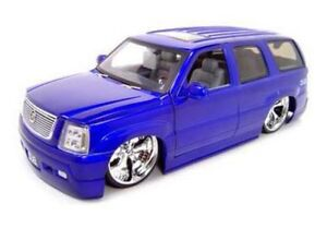 Cadillac Escalade Suv Purple Jada Toys Dub City 63102 1 18 Scale