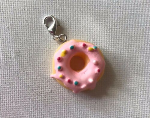 Doughnut//Donuts lobster clasp charms