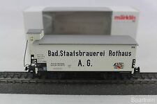 Märklin Basis 94430 Bierwagen Rothaus neuwertig mit OVP