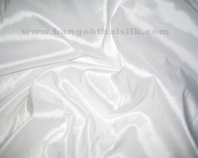 #41-68 Taffeta Faux Silk Fabric For Wedding Bridesmaid Dress Drape Decor BTY