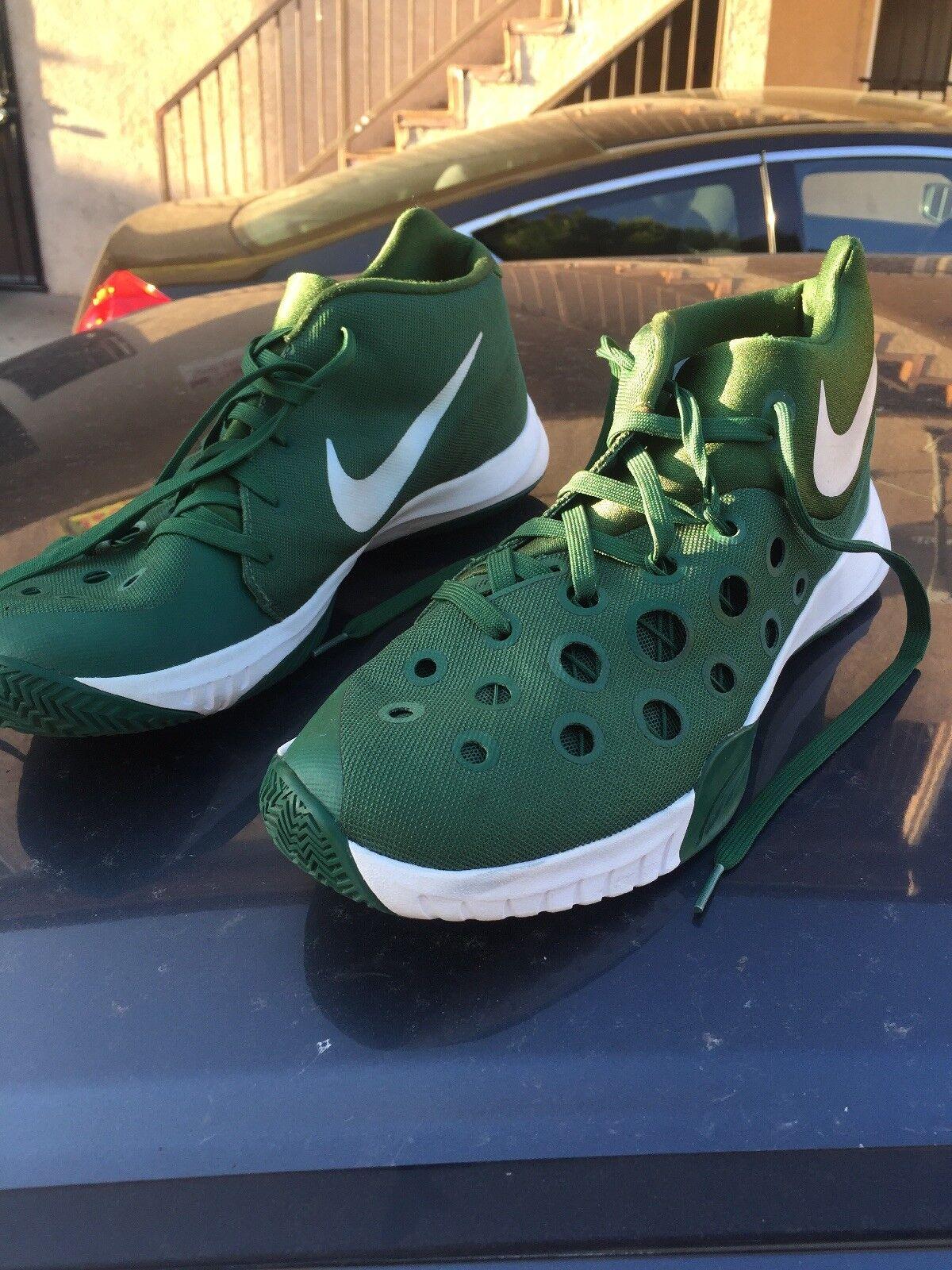 purchase cheap 44c2e 30d91 Nike zoom hyperdunk 2016 verde   bianco numero 13 13 13 ef66de