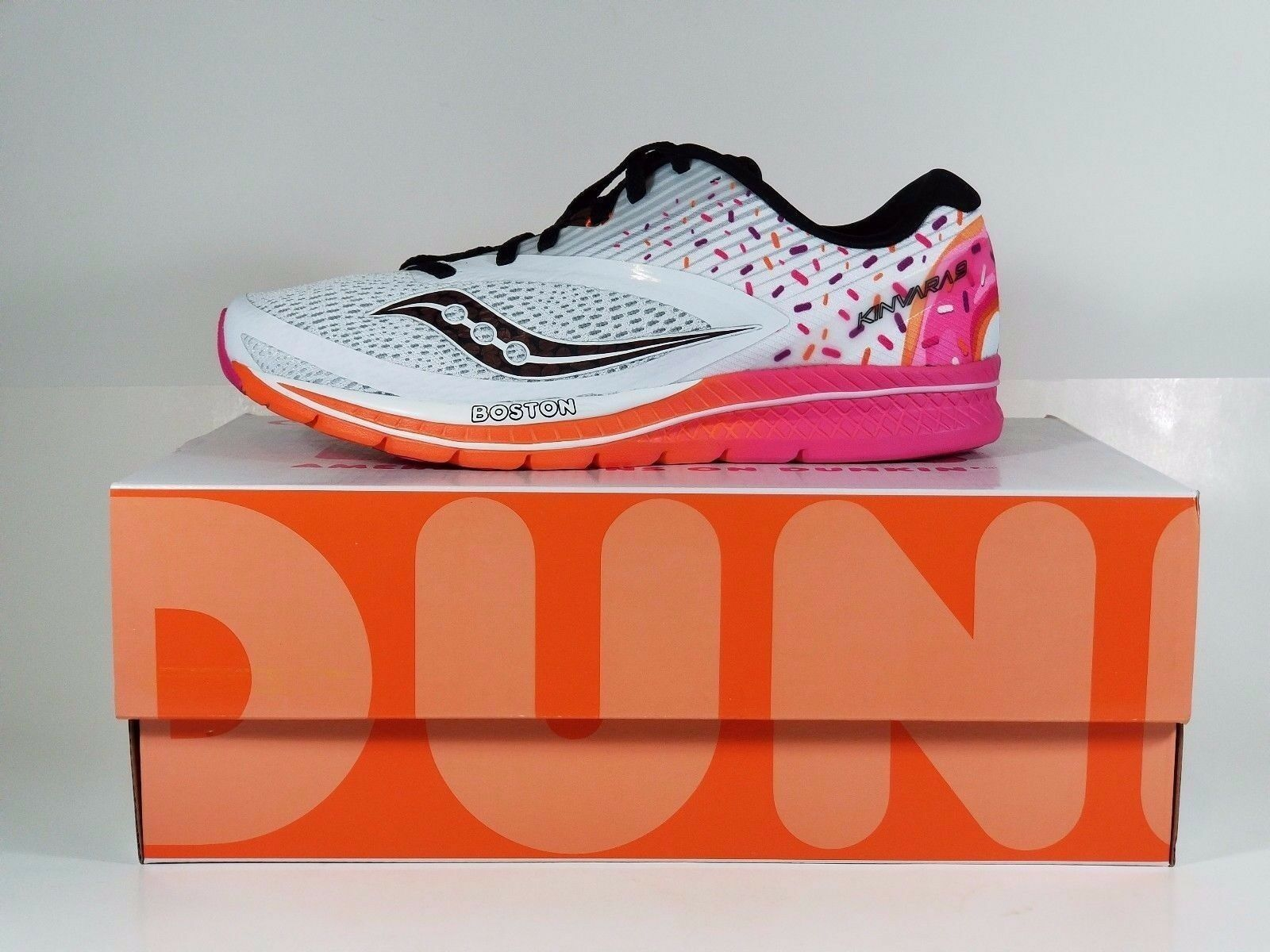 Saucony Kinvara 9 Dunkin Donuts Mens shoes Size 9 Brand new in Box