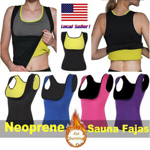 34238740cd Hot Sweat Sauna Body Shaper Women Slimming Vest Thermo Neoprene ...