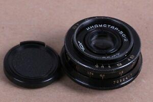 Russische-Objektiv-Industar-50-2-50mm-3-5-Pancake-Kamera-m42-Mount-Zenit-Sony-Canon