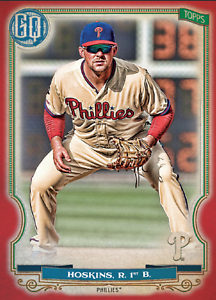 2020 Topps BUNT Rhys Hoskins Gypsy Queen RED Base ICONIC! [DIGITAL CARD}