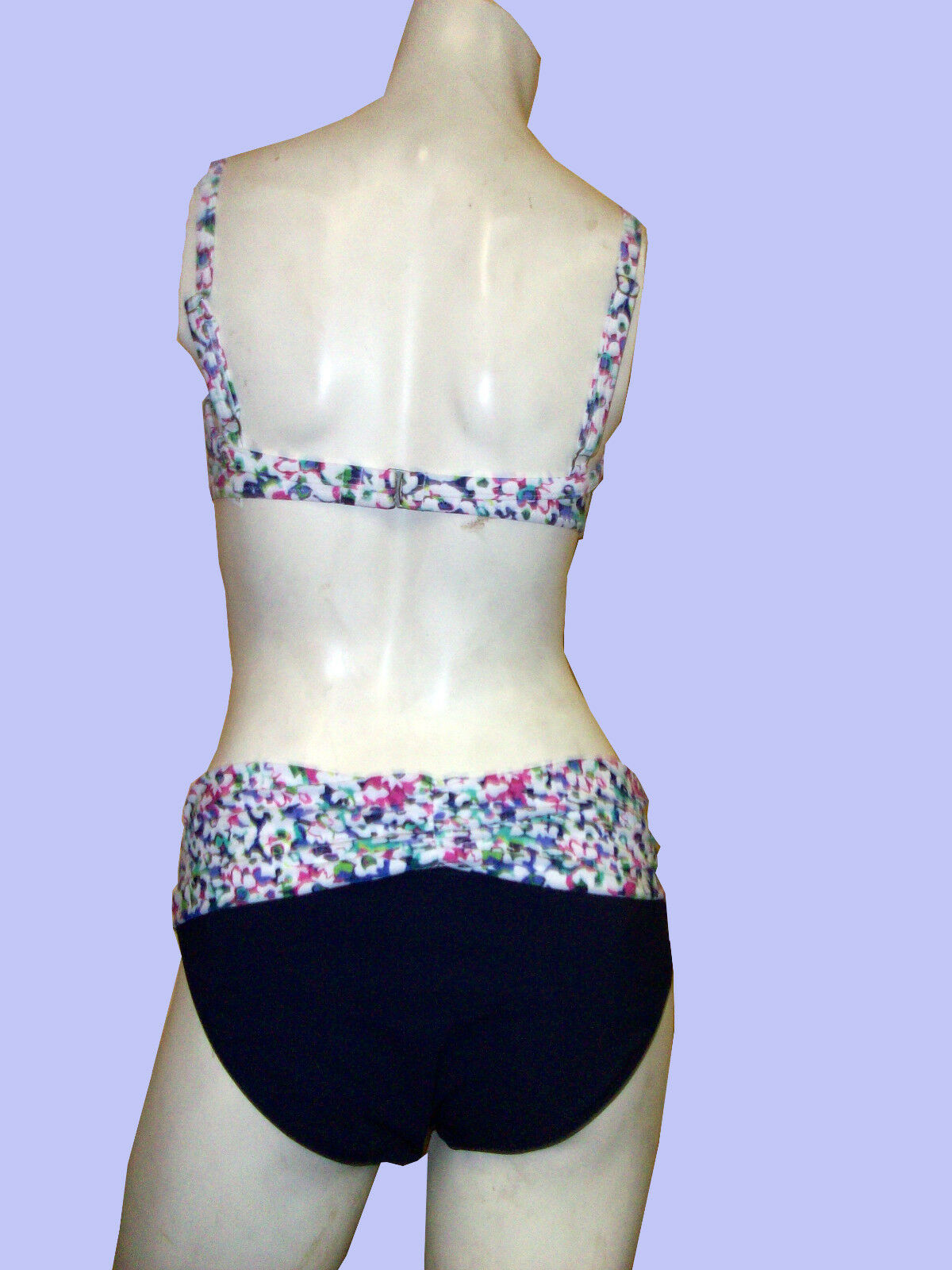 NWT PROFILE BY GOTTEX  MULTICOLOR MULTICOLOR MULTICOLOR  SPRING DAISY  2 PC BATHING SUIT SWIMSUIT SZ-8 4ef681