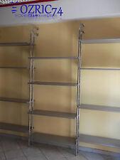Bancone scaffalature  gondola vetrina pannello dogato arredamento negozio usato