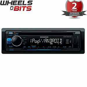 Kenwood-KDC-200UB-CD-MP3-Automovil-Estereo-USB-Aux-iPod-iPhone-control-directo-Android