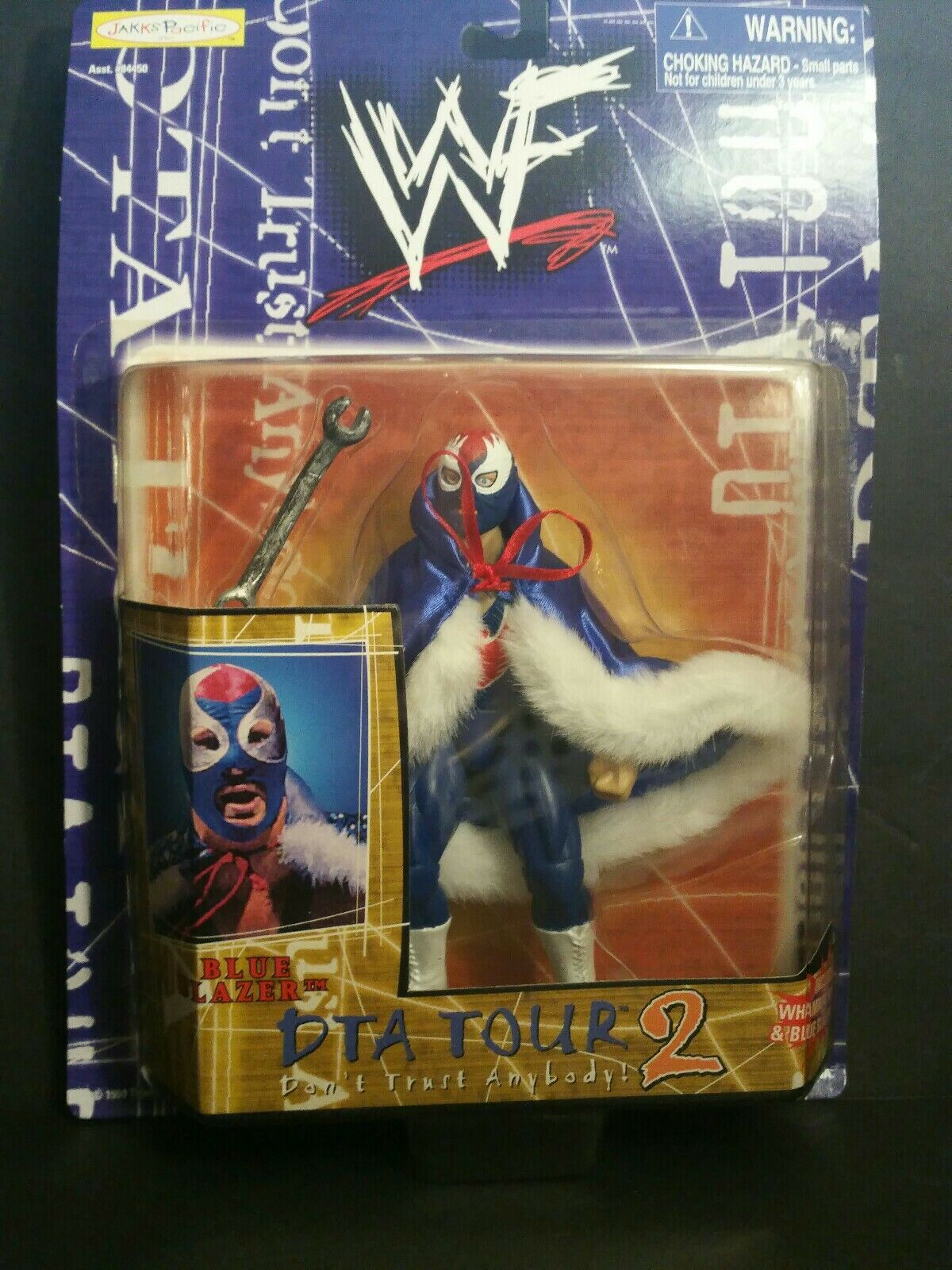 WWF DTA TOUR 2 bleu Blazer Action Figure (107)  (8-12)  confortablement