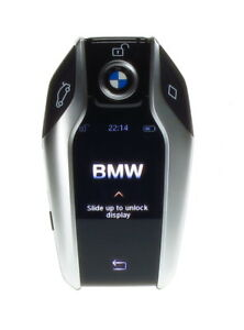 BMW KEY Fernbedienung IDG DISPLAY Schlüssel mit Parkplatz 8729776