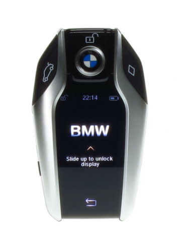 BMW g01 g11 g12 g30 key telecomando 8787656 IDG display chiave 434mhz