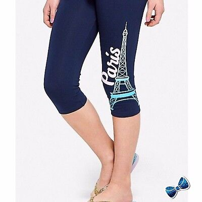 Justice Girls Size 16 PARIS Full Length Leggings New With Tags