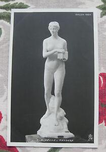 CPA-nu-feminin-sculpture-Salon-Paris-1904-Peche-Pandore