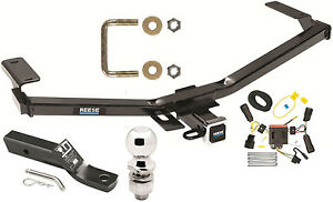 complete trailer hitch package w/ wiring kit fits 2011 ... ford escape trailer hitch wiring 2014 ford edge trailer hitch wiring #2