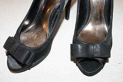 Monsoon Negro Zapatos Talla 37/4 UK